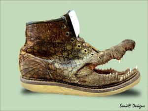 crocodille schoen