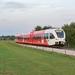 Arriva nieuw opgeleverde spoor ter hoogte van Varsseveld
