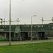 Een oude groene stoptrein (materieel '46, om precies te zijn)