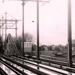 Station Leidschendam Voorburg met de oude vakbrug met een Mat 46