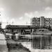 Leidschendam ca 1955 - de Vliet bij de spoorbrug