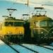 1001 samen met de 1618. Afscheidsrit 12-12-1981. Utrecht