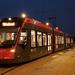 Een avonddienst op HTM-tramlijn 9    (19 juli 2017)
