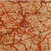 kaart van Freudenberg en omstreken