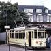 824 Sinds 2002 rijdt deze museumtram in het Deense trammuseum Skj