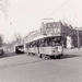 Motorrijtuig 504, lijn 2, Oranjeboomstraat, 24-3-1962
