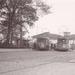 Motorrijtuig 515, lijn 9, Stationsplein, 16-10-1954