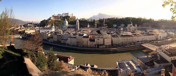 Salzburg _Altstadt view