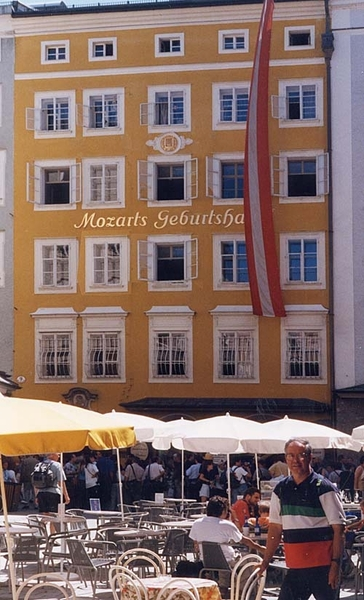 Salzburg _Mozart _Birthhouse