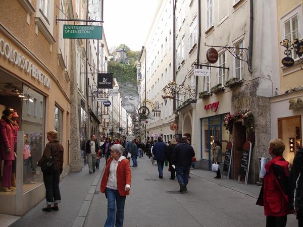 Salzburg _Getreidegasse