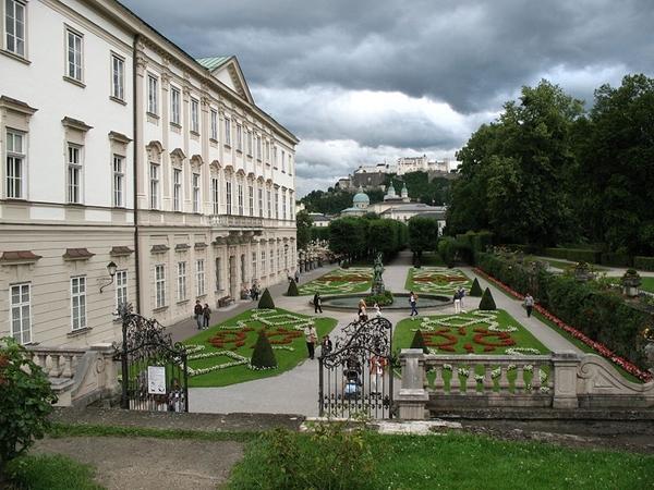 Salzburg _Schloss Mirabell and garden