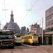 Turfmarkt in september 1974 met bus inzet voor lijn 9