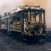 Het trieste einde van de 69 op 's Gravenmade. 29-3-1965