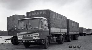 DAF-2600 BAKKER ARNHEM
