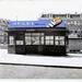 Busstation Elandsgracht met wachthuisje type Kostverloren