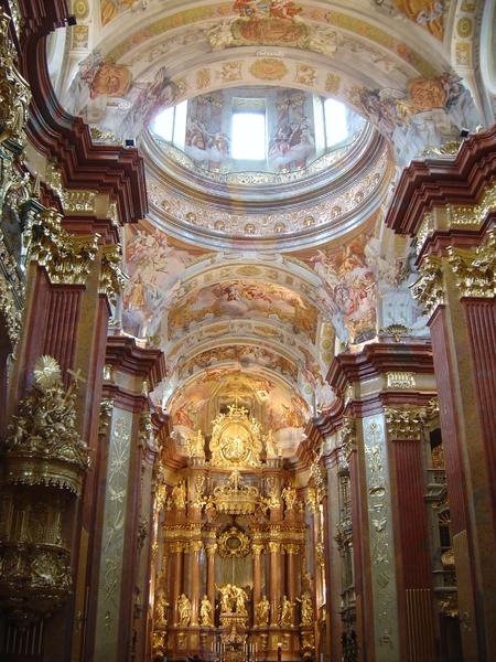 Abby of Melk _Altar van de Stiftskirche