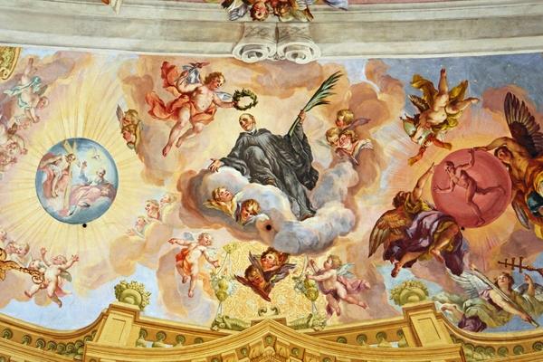 Abby of Melk _fresco, the triumph of the munck