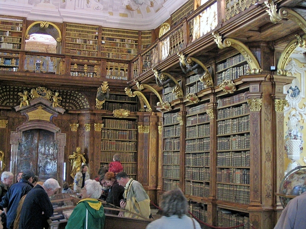Abby of Melk _famous library