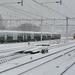 De DM'90 stellen samen met 766 op Nijmegen in de sneeuw 10-12-17