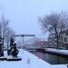 Beelden in de sneeuw