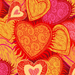 hd-liefde-achtergrond-met-roze-en-gele-liefdes-hartjes-wallpaper