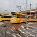 De 3009 staat samen met de Soldaat van Oranje-tram 3119