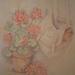 geraniums  (pasteltekening)