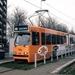 Tramlijn 6K tussen De Uithof en het Centraal station. De 3136 als