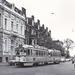 De laatste dagen van tramlijn 7 1966 op de Bezuidenhoutseweg