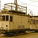 De werkwagen H41 (Nordwaggon Bremen bouwjaar 1923)van de HTM