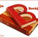 van het boek een letter b gemaakt