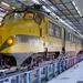 765 op spoor 107 in de werkplaats in Onnen, 27-12-1995. Onderhoud
