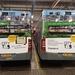 R.E.T. 316 en 373 met achterkant reclame voor CITY TAB