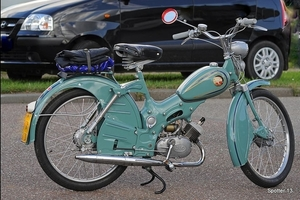 Panter Bobby - 49 cc bj.1955
