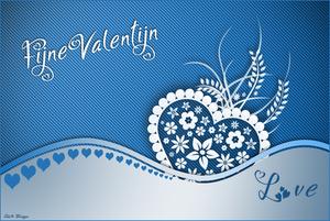 blauwe valentijn
