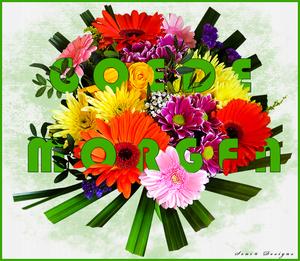 goede morgen bloem