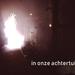 vuurwerk in de achtertuin