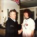 Aart sr met Cockey Lodder (Mrt.1989)