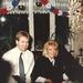 Jan en Peter Lodder met Margit Scheepsma (1989)