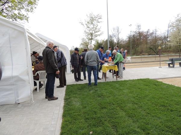 217. Opening petanquebanen 16 April