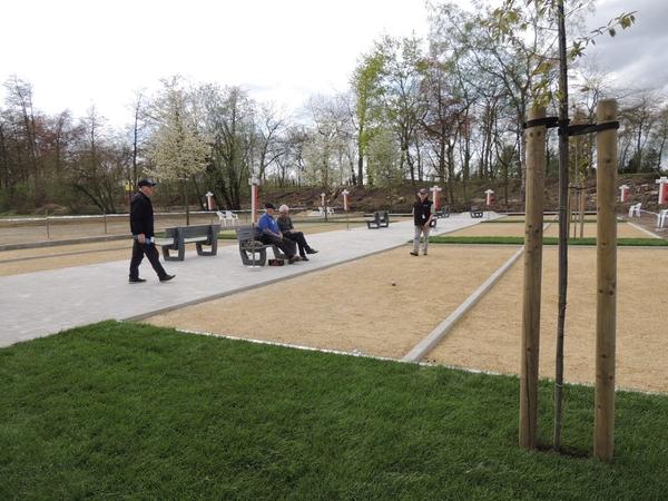 218. Opening petanquebanen 16 April