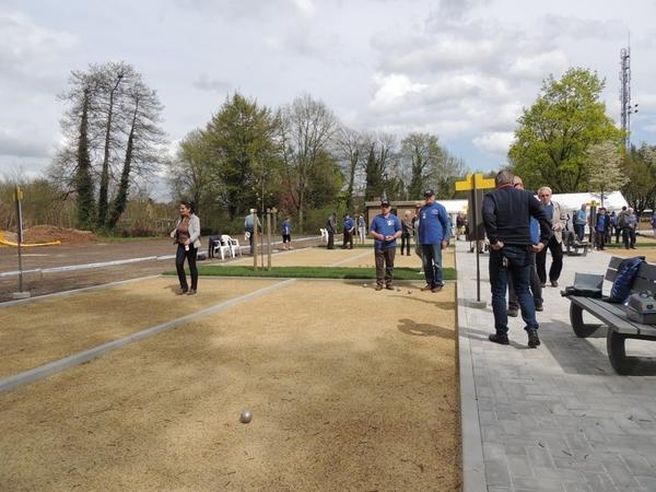 222. Opening petanquebanen 16 April