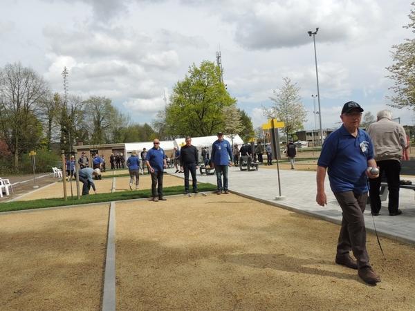 224. Opening petanquebanen 16 April