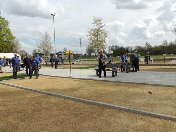 226. Opening petanquebanen 16 April