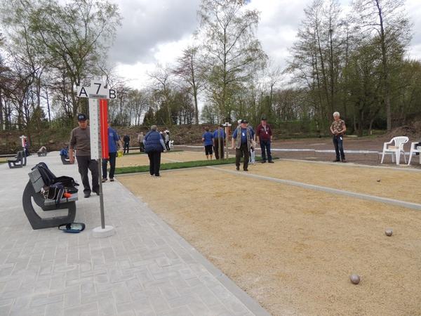 234. Opening petanquebanen 16 April