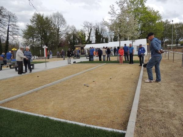 243. Opening petanquebanen 16 April