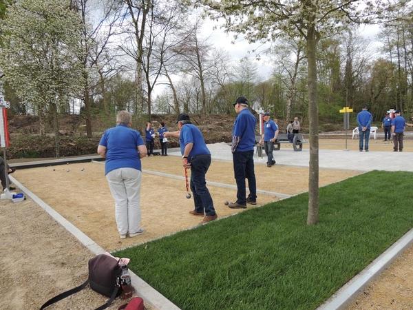 245. Opening petanquebanen 16 April