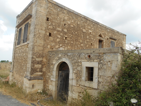 146 venetiaanse ruines in kato tripodo