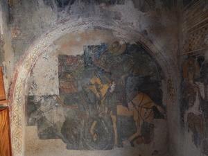 221 fresco's in panagia skafidianikerk,prodromi