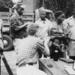 Bakongo 1953: onderzoek Malaria (prikje)